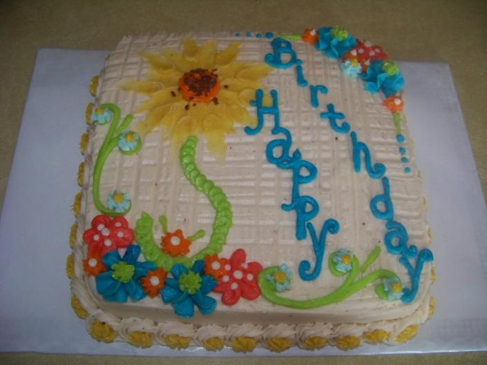 A Sunflower Birthday...