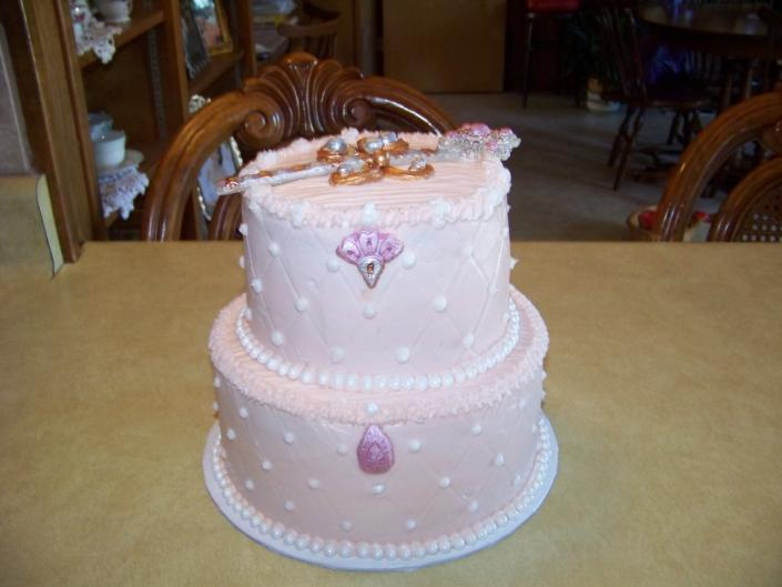 This sweet little girl loves the fairy princess. Elegant looking with a beautiful wand on the top.