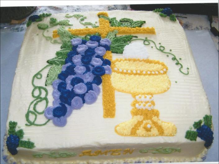 Cake Art Creations By Jane : Comfirmation - Desserts & Special Occasions Cake Gallery